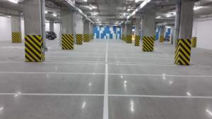Solution logistique rénovation parking