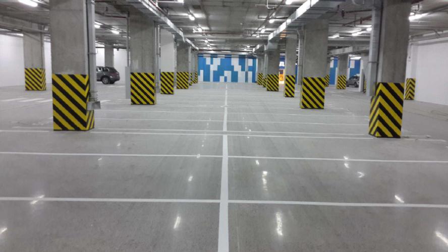 Solution logistique rénovation parking