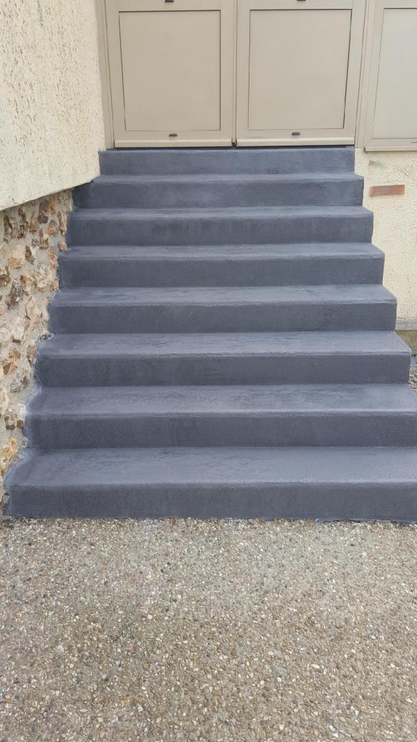 beton cire pour escalier exterieur acheter escalier beton. Black Bedroom Furniture Sets. Home Design Ideas