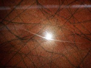 résine epoxy marbrée